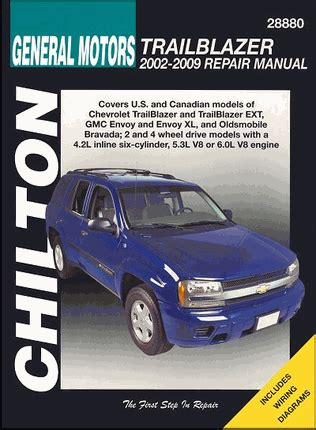 electric power steering 2002 oldsmobile bravada free book repair manuals trailblazer envoy bravada repair manual 2002 2009 chilton