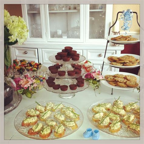 baby shower food table ideas  display baby zei