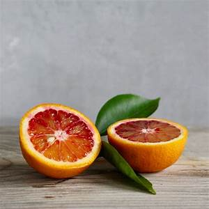 Difference between: oranges and blood oranges