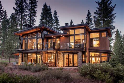 modern mountain home  lake tahoe hgtv