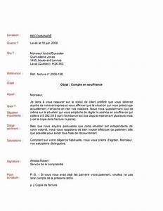 Modele De Lettre De Relance : sample cover letter exemple de lettre de recouvrement ~ Gottalentnigeria.com Avis de Voitures