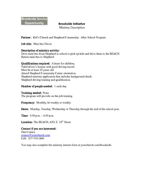 food pantry volunteer sample resume premade templates mind