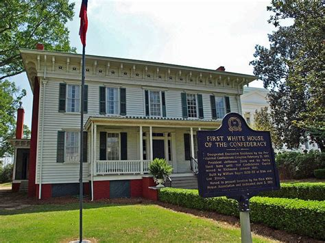 first white house of the confederacy images