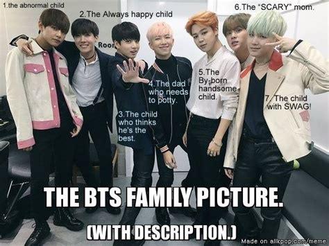 Family Sucks Meme - family picture bts kpop a h0l c pinterest rap monster monsters and bts