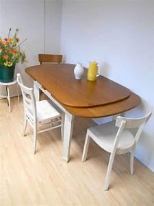 Esstisch Oval Weiß Ausziehbar : ovaler ausziehbarer esstisch im shabby chic look eiche ~ Watch28wear.com Haus und Dekorationen