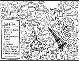 Coloring Menu Restaurant Restaurants Xo Together Offices Events Lp sketch template