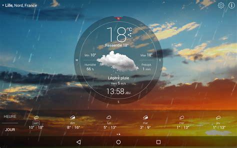 installer meteo sur bureau gratuit météo live gratuit applications android sur play