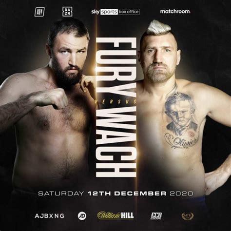 Hughie Fury vs Mariusz Wach and Martin Bakole vs Sergey ...