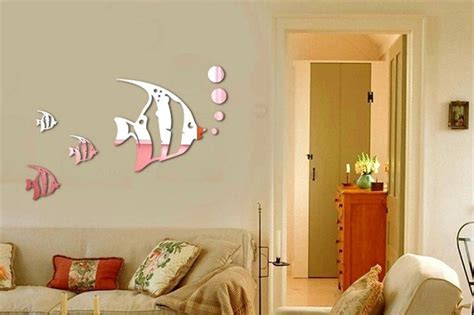 Elite Collection 3d Home Office Decor Wall Decals Mirror