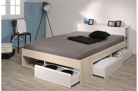 lit avec rangement lit 2 personnes avec rangement pas cher pour chambre adulte
