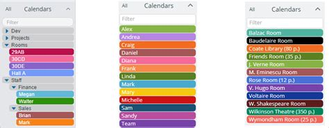 color coded calendar add color coded sub calendars