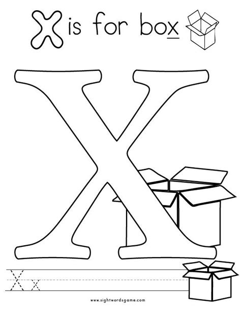 Coloring X Letter Page by Letter X Coloring Page 2 Letters Of The Alphabet