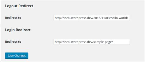 redirect wordpress users   situations