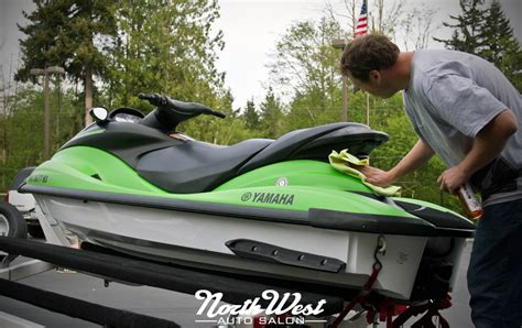 Yamaha Boats Seattle by Watercraft Witchcraft Matte Green Waverunner Wrap At Nwas