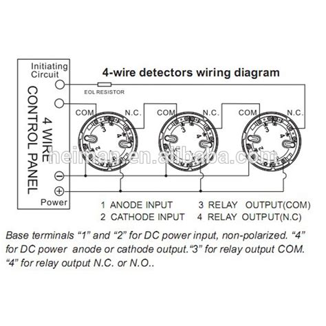 Lpcb Approved Optical Conventional Wire Smoke Detector
