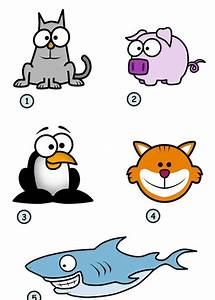 how to draw cute cartoon animals with big eyes   Best Haircuts