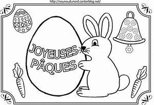 Coloriage De Paque : coloriage paques lapin ~ Melissatoandfro.com Idées de Décoration