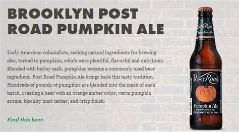 Post Road Pumpkin Ale Recipe by 17 Best Images About Seasonal Brews On Pinterest Summer