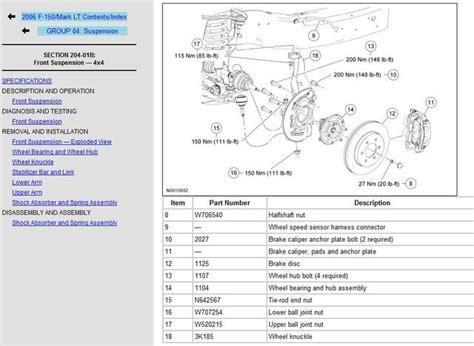 suspension torque specs   peek fonline forums