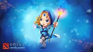 Crystal Maiden Dota 2 Chibi 62 Wallpaper HD