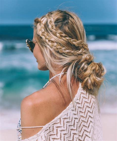 hairstyles for beach vacations 20 inspiring beach hair ideas for beautiful vacation