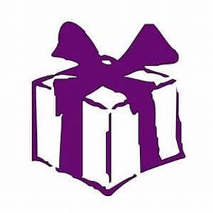 Present Wedding Purple Clipart