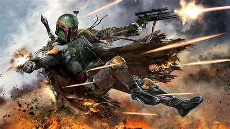 Star Wars Clone Wallpapers Boba Fett Wallpaper 79 Images
