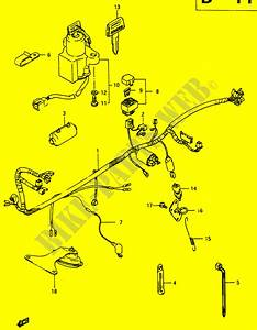 Wiring Harness For Suzuki Rg 250 1986   Suzuki Motorcycles