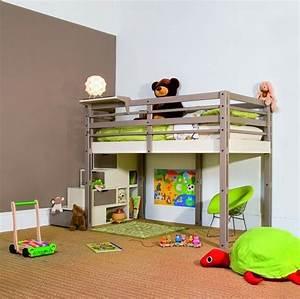 Teppichboden Für Kinderzimmer : kinderzimmer hochbett modern funktional akzentwand teppichboden kinderzimmer babyzimmer ~ Orissabook.com Haus und Dekorationen
