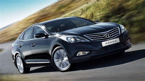 2015 New Hyundai Azera Luxury Black Car on Road HD ...