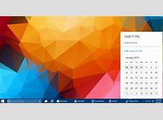 Windows 10 has a hidden new calendar and clock, here is