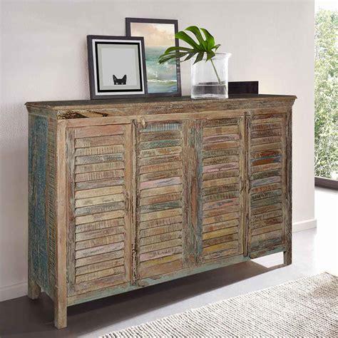reclaimed wood cabinets weathered reclaimed wood shutter door sideboard