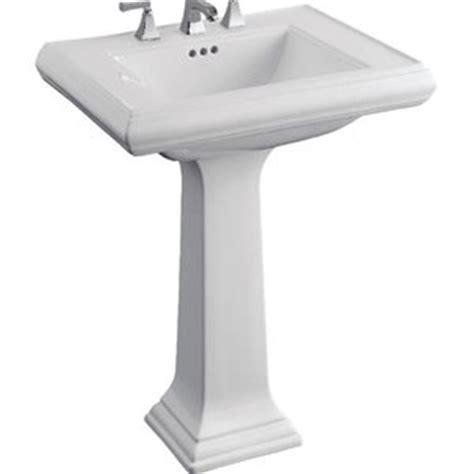 k2258 8 0 memoirs classic pedestal bathroom sink white