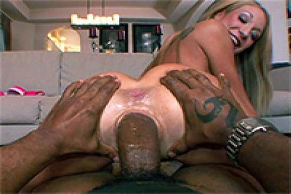 #Massive #Black #Cock #Stretched #Her #Pussy #To #The #Limits