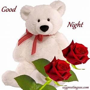 English good night | Good night teddy bear, Teddy bear ...