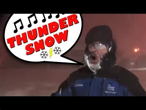 evening post jim cantore songified  thundersnow