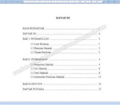 contoh makalah yang baik pdf contoh o