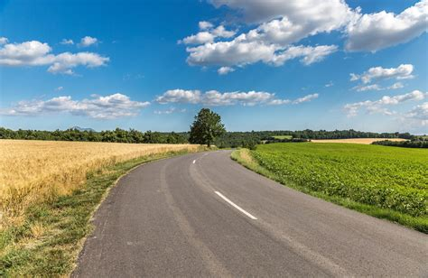 road, Clouds, Field Wallpapers HD / Desktop and Mobile ...