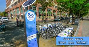 nextbike is costly (as well as limiting)