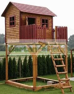 hoq spielturm kinderhaus stelzenhaus spielhaus baumhaus With französischer balkon mit garten kinderhaus