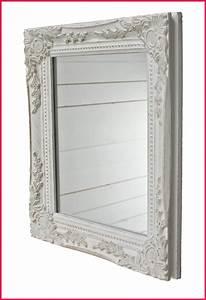 Miroir Blanc Baroque : 46 ides dimages de miroir cadre bois ~ Teatrodelosmanantiales.com Idées de Décoration