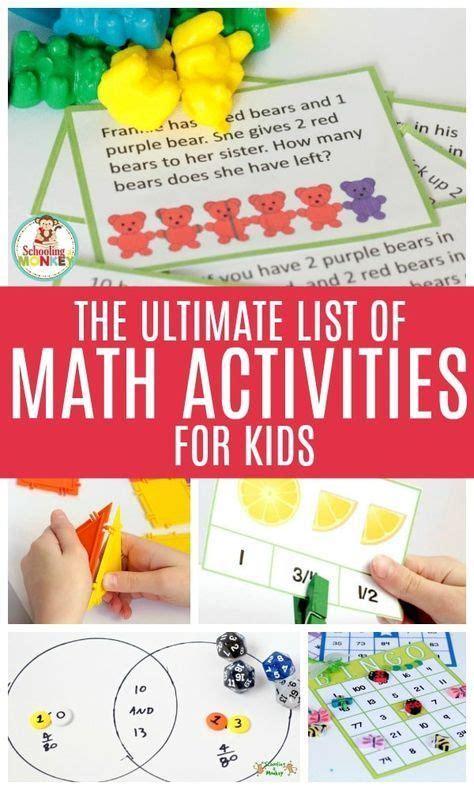 ultimate list  fun math projects  kids