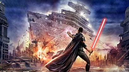 Wars Star Wallpapers Games Cave Epic