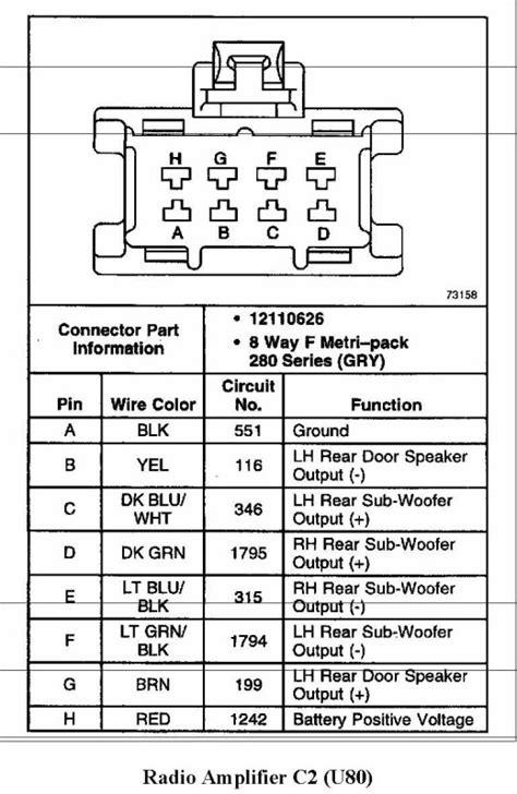 Ssei Bose Amp Wiring Diagram Forum Buick
