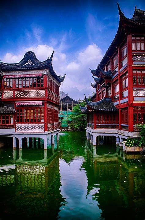 Der Yuyuan Garten by Der Yuyuan Garten Mitten In Der Altstadt Shanghai
