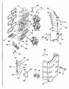 Johnson 1996 200 - Sj200wtpla  Intake Manifold