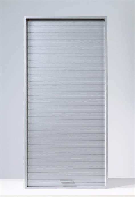 armoire de rangement 224 rideau coloris aluminium loick ii