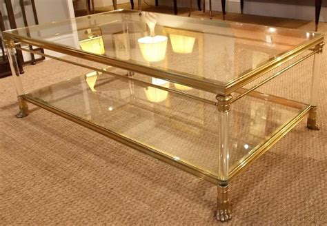 two tier glass coffee table furniture coffee table a good creation two tier glass