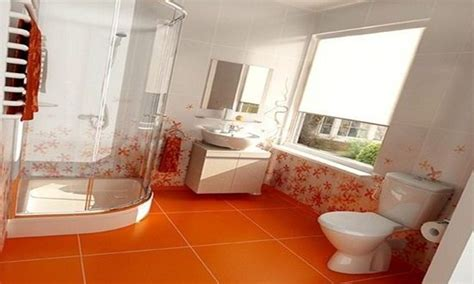 Decorating Ideas For An Orange Bathroom by Orange Bathroom Decorating Ideas Interior Design