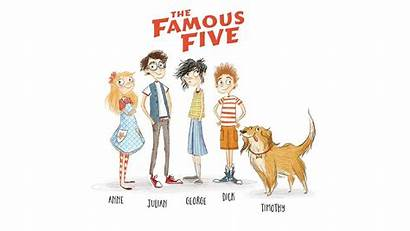 Famous Five Well Know Blyton Series Adventure